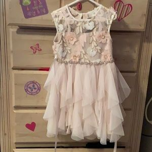 Beautiful girls dress with lots of detail!